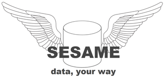 Sesame Logo, Data, your way